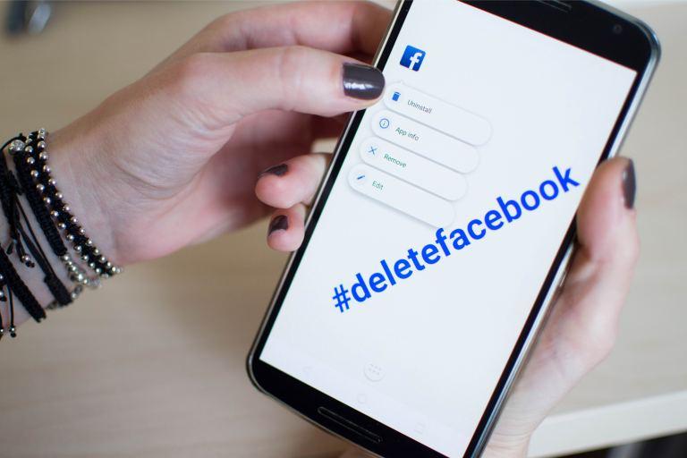 delete facebook - privacy