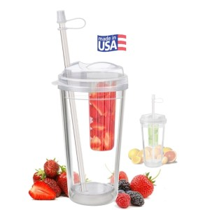16oz - Infuser 'Take-Out' Tumbler with Berries