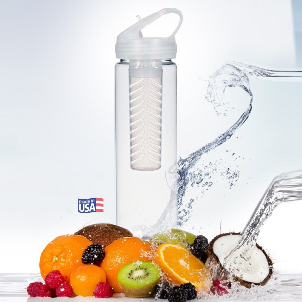 Clear 25oz Infuser with fruit | Made in USA