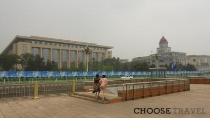 Podziemne przejście na Placu Tiananmen