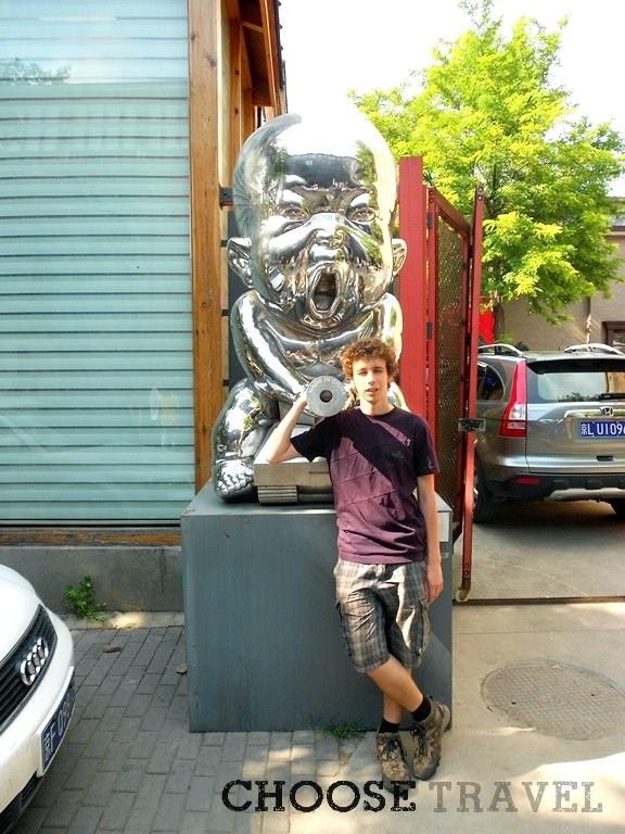Chińczcyk na czołgu, czyli pozdrowienia od Pekinu dla Moskwy