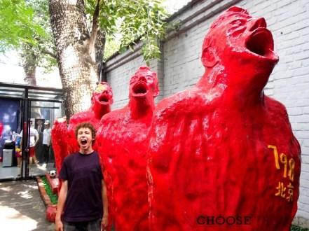 Czerwoni nawołują komunistów. Bo w Chinach komunizmu dawno nie ma, serio!