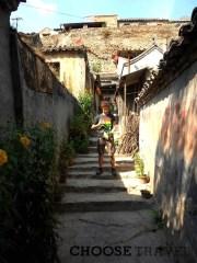 Łukasz na ulicach opustszałej Chuandixii