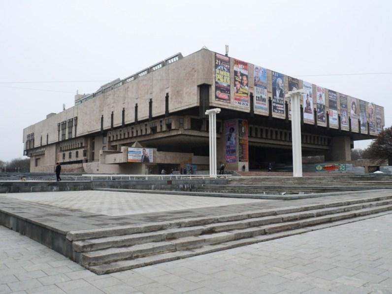 """Narodowy Akademicki Teatr Opery i Baletu w Charkowie. Ścisła czołówka na liście najbardziej """"oldschoolowych"""" miejsc w Charkowie."""