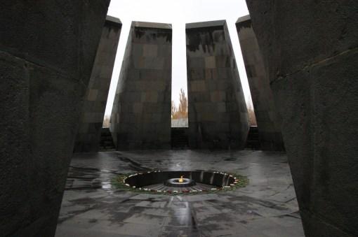 Pomnik upamiętniający Ormian wymordowanych przez Turków.