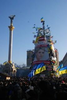 Euromajdan, czyli Majdan Niepodległości w pełnej krasocie