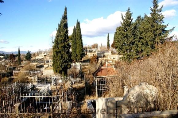 Cmentarz Kukia w Tbilisi (Gruzja)