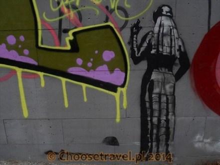 Grafitti na ulicach Tbilisi