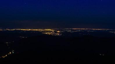 Dolina Prahovy nocą