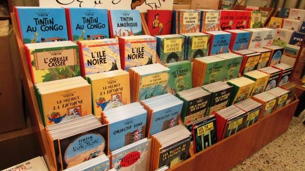 Przygody Tintin w Muzeum Komiksu w Brukseli