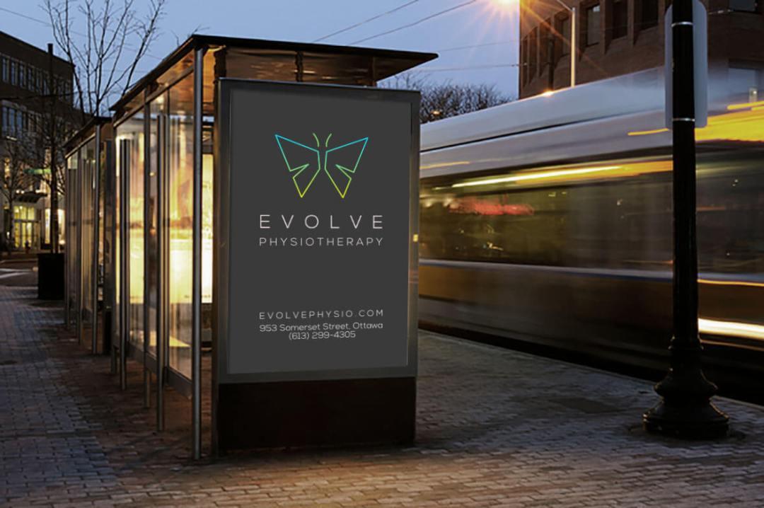 evolve bus shelter
