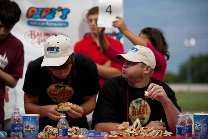 Soft Taco Eating Contest