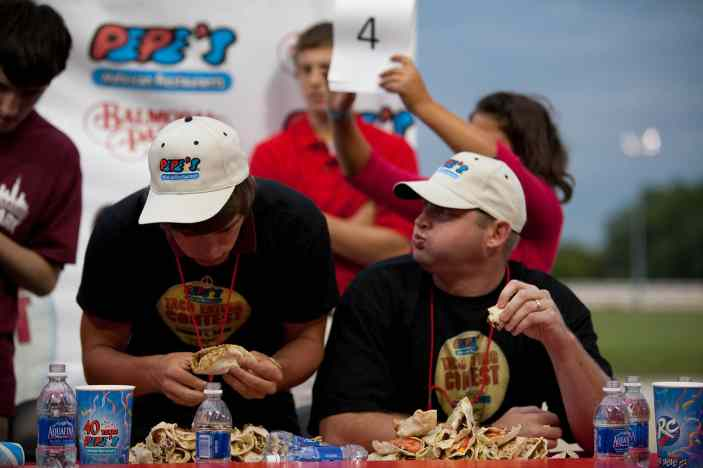 Soft Taco Eating Contest