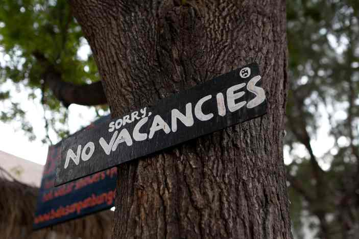 No Vacancies in Gili Trawangan, Indonesia