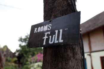 No Vacancies in Gili Trawangan, Indonesia