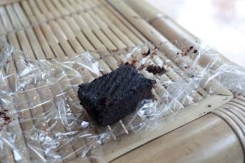 Chocolate brownie in Ubud, Bali.