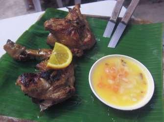 Hawaiian chicken Boracay, Philippines.