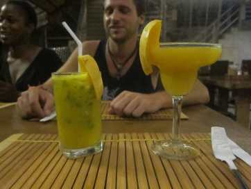 Mohito and margarita in Boracay, Philippines.