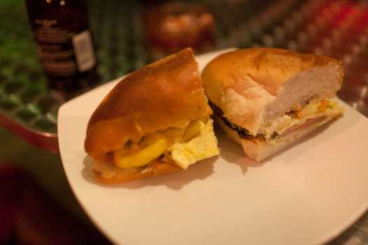 Sandwich in El Nido, Philippines.