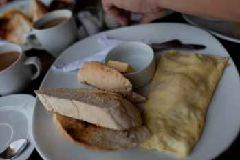 Omelet in El Nido, Philippines.