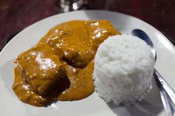 Fish curry in El Nido, Philippines.
