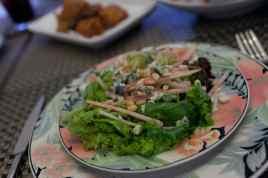 Salad in Manila, Philippines.
