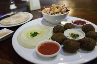 Falafel in Bangkok, Thailand.