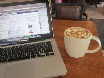 Starbucks in Bangkok, Thailand.
