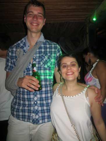 Party in Bocas del Toro, Panama.