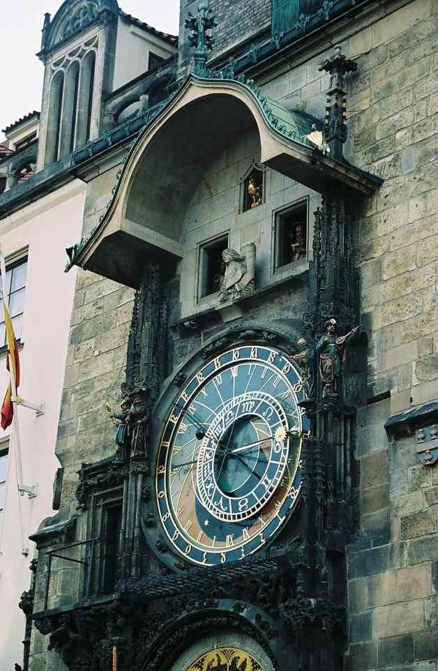 Astrological Clock in Prague, Czech Republic