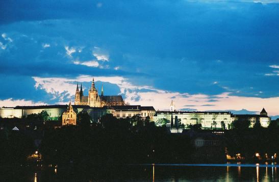 Prague Castle in Prague, Czech Republic