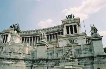 A Vittorio Emanuele in Rome, Italy