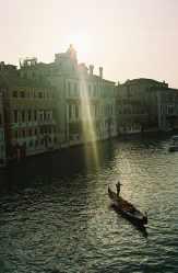 A Venice gondola in Italy