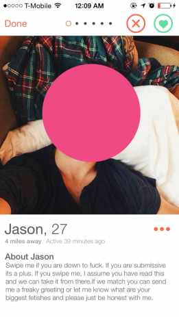 The Men I Meet on Tinder - Jason is down to fuck.