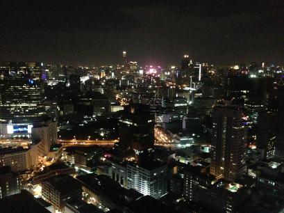 View of Bangkok from the Travel Massive party.
