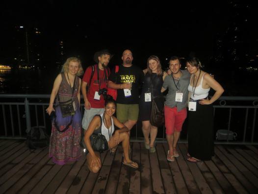 Travel bloggers.