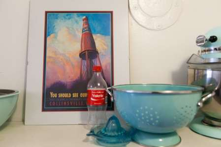 World's Largest Catsup Bottle poster.