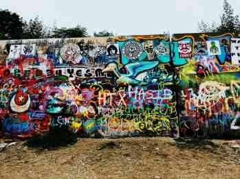 HOPE Outdoor Gallery in Austin, Texas.