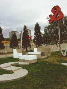 Olympic Sculpture Park in Seattle, Washington