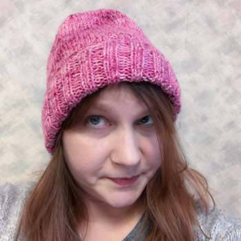 Almost done. But what's a hat without a pompon?
