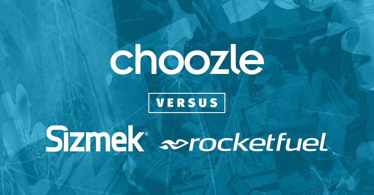 Choozle versus Sizmek & Rocketfuel