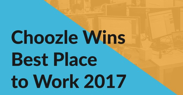 Choozle Wins Best Place to Work 2017