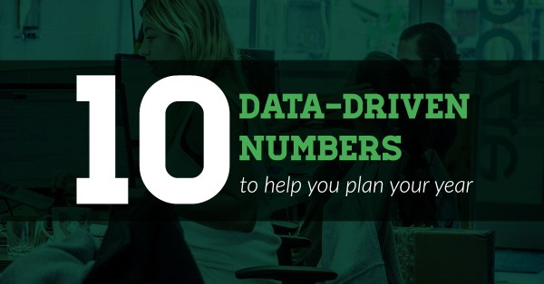 10 data-driven numbers to help you plan your year
