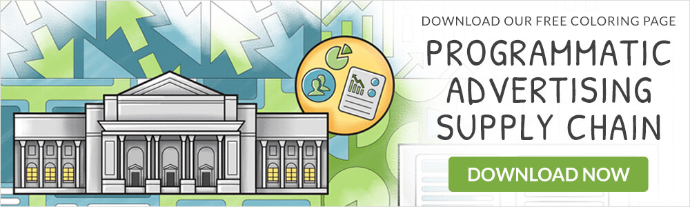 Choozle Printable Programmatic Ad Supply Chain Coloring Page