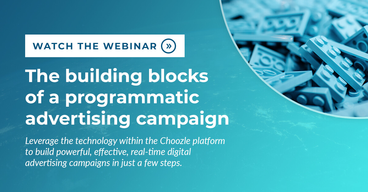 The building blocks of a programmatic advertising campaign