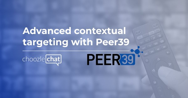 Advanced contextual targeting with Peer39