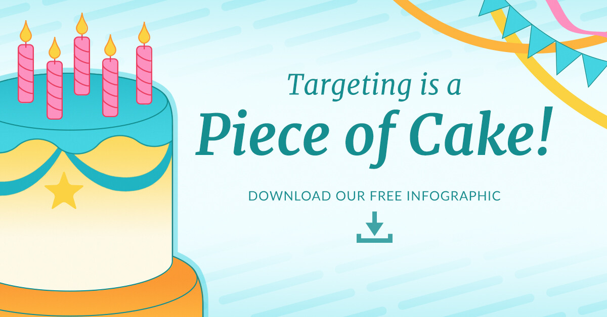 Choozle Targeting is a Piece of Cake Infographic Featured Image