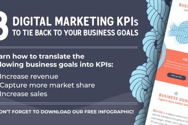 Digital Marketing KPIs Infographic