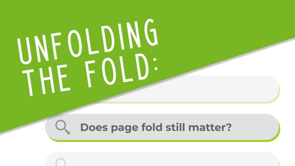 Does page fold still matter?