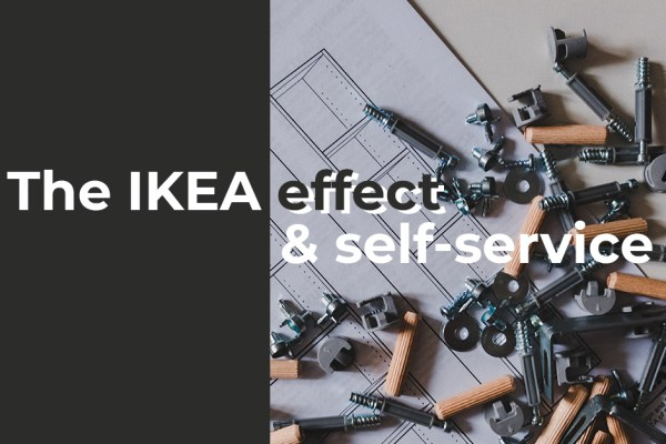 The IKEA effect and self-service advertising